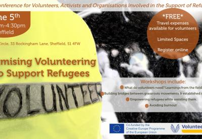 Optimising Volunteering to Support Refugees
